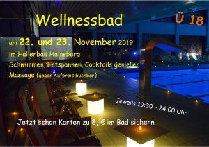 Wellnessbad 22. + 23.11.2019